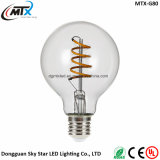 110V 220V 4W G80 E26 E27 LED Soft Filament Lighting