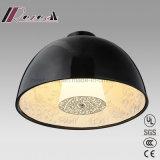 Modern Resin Black Round Pendant Light with Living Room
