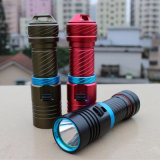 5000lm Xm-L2 Waterproof Diving Flashlight