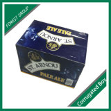 Corrugated Beer Packing Carton for Wholesale in China