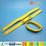 Rewearable Repeat Use RFID Silicone Gym Braceclet Icode Sli Wristband