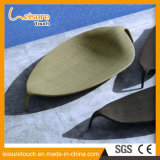 Rattan/Wicker Leaf Shape Outdoor Garden Patio Furniture Beach Swimming Pool Lounge Lying Bed Sunbed Daybed
