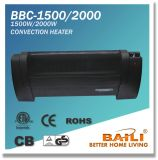 1500W/2000W Low Profile Convection Heater