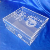 Clear Acrylic Shoe Box for Brand Name