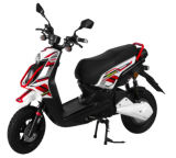 1500W72V Cheap Electric Powerful Motorcycle, Adult Electric Moped with Silicon Battery (EM-025)