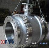 API Metal to Metal Seated Trunnion Mounted Ball Valve