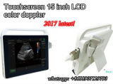 2017 Latest 15 Inch Tablet Small Light Color Doppler for Emergency
