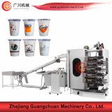 High Speed Offset Cup Printing Machine with Four Six Color