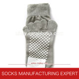 Men′s Anti Slip Toe Sock (UBUY-058)