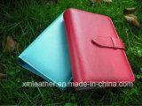 Custom Logo Leather Document Holder Agenda Notebook Cover