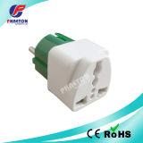 EU 2pin Round Multiuse AC DC Power Travel Adapter Plug