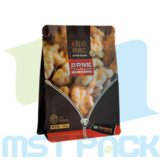 Flat Bottom Box Pouch Bag with Ziplock for Dry Fruit