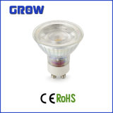 New Product COB 7W GU10 Glass LED Spotlight