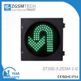 300mm Yellow U Turn Signal LED Traffic Light Bulbs