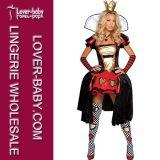 Deluxe Fancy Queen Outfit Women′s Halloween Costume (L15277)
