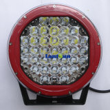 "Red Black 9"" 185W LED Driving Light for Jeep"