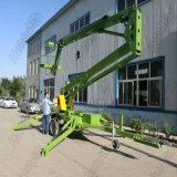 Folding Arm Trailer Mounted Hydraulic Diesel Boom Lift Platform