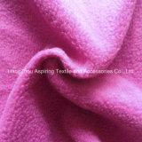 100% Polyester Knitting Polar Fleece Fabric 75D/96f