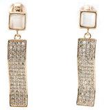 Good Quality & Fashion Jewelry 3A CZ 925 Silver Earring (E6512)