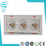 45W 3 Units Square Recessed LED Down Light