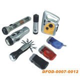 All Kinds of Flashlight with Different Power Supply (DFOD-007~0012)