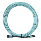 MPO-MPO Aqua mm Fiber Optical Patch Cord