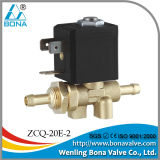 Bona Zcq-20e-2 Direct Action 8*6.5mm Gas Tube Brass Solenoid Valves