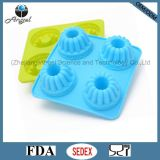 4 Cavity Pinion Wheel Silicone Fondant Mold for Chocolate Sc45