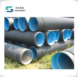 HDPE Polyethylene Pipe HDPE Double Wall Corrugated Pipe with High Density