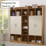 Modern Design Wooden Color MDF Bookshelf Bookcase