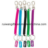 Lastic Spiral Elastic Round String with Keychain