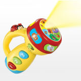 Plastic Kids Toy Intellectual Flashlight Toy (H4646100)