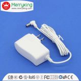 12W Plug AC DC Adaptor with UL FCC DOE VI