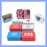 Best Selling Mini Metal Gift Box Medicine Cigarette Name Card Box Support OEM