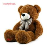 Plush Big Brown Bear Toy