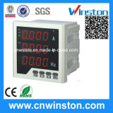 Single-Phase Three Row Frequency LED Digital Combination Meter with CE