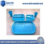 Plastic Combination Table Ware Injection Mould with Best Cost Mh11