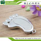 Promotional Gift Metal Foot Mini USB Stick