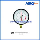 Diaphragm Seal Pressure Gauge with Brass Connection (2W1754)