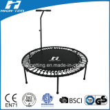 "55"" Round Mini Trampoline with Elastic Rope Instead of Spring"