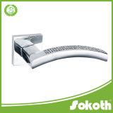 Good Quality Square Zinc Alloy Door Handle, China Door Handle, Door Hardware