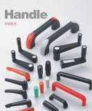 Black Orange Silver Female Male Zinc Alloy Adjustable Handle