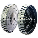 "9"" 72 Gear Tooth Hand Push Reel Mower Plastic Wheel"