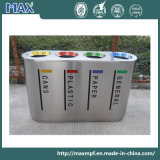 Top Selling Stainless Steel Recycling Waste Bins for Airport