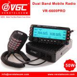 China Professional 50W Vehicle Mounted Vero Vr-6600PRO CB Radio Dual Band Digital Mobile Car Radio Transceiver