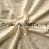 93%Rayon 7%Linen Knitting Fabric (QF13-0681)