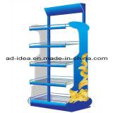 Four Layers Metal Floor Display Rack, Display Stand (RACK-455)