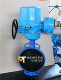 Full Rubber Lined Wafer Butterfly Valve with Electrical Actuator (CBF02-TA01)