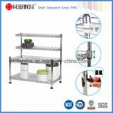 Adjustable Metal Mini Kitchen Corner Rack Holder (CJ452545C4)