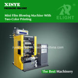 Thin Plastic Film Making Machine with Two Color Printing